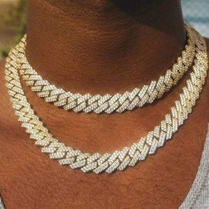 18K Gold Diamond Miami Cuban Link Necklace
